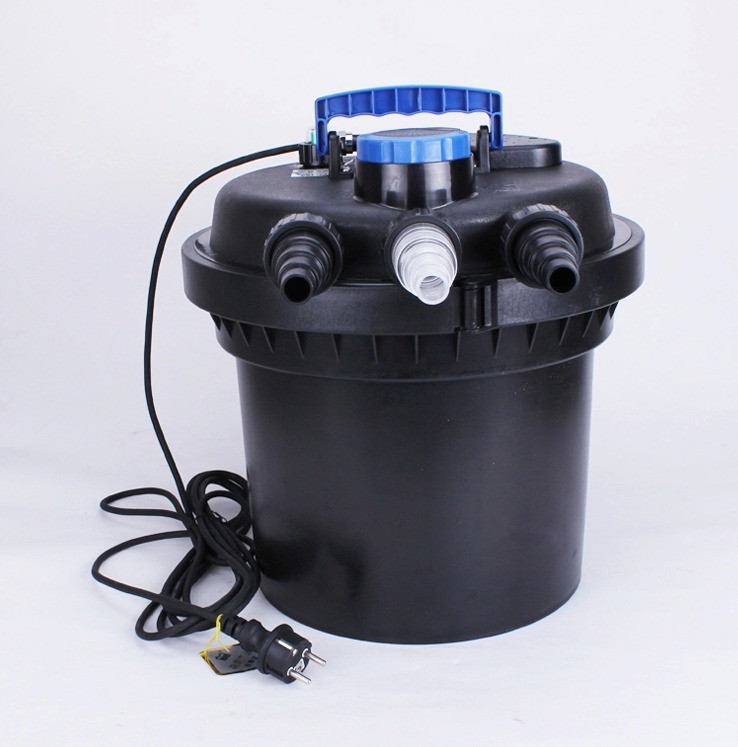 Sunsun pond filter cpf 180 with 18w uv sterilizer for Pond canister filter